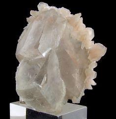 + Calcite and stilbite
