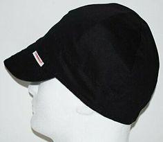 NWT Comeaux Caps Welding Welders Hats Pipe Fitter Reversible Blue Bandana