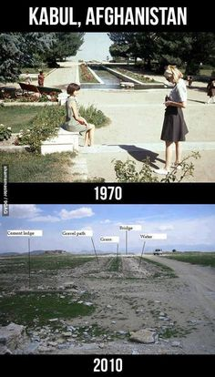 Afghanistan 1970 & 2010-Islam doesn't improve. It doesn't produce great minds but CONTROLS,Disciplines & destroys!