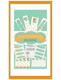 Soar With Reading  - Motivational Bookmark Set Great for Dr. Seuss' Birthday