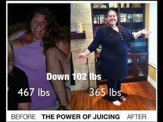 Juicing For Weight Loss - Down Over 100 Pounds - Case Study  https://www.facebook.com/VegetableJuicing