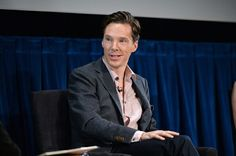 """sue-78: """"Benedict Cumberbatch attends The New York Times' TimesTalk & TIFF In Los Angeles Presents 'The Immitation Game"""