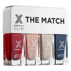 Formula X - The Match CLIX! shown in LIGHT TO MEDIUM SKINTONES #sephora