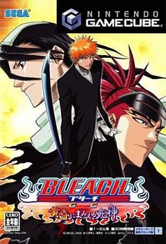 Bleach GC (Polygon Magic/Sega), GameCube; primarily a weapon-based fighting game, with gameplay mechanics reminiscent of 2.5D fighters like Capcom's Project Justice & SNK's Samurai Shodown 64: Warriors Rage, albeit with a simplified control scheme to accommodate the Gamecube's controller.