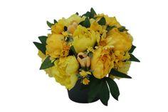 Rasarit de soare - Aranjament cu flori artificiale