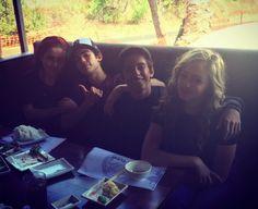 Brenna D'Amico, Cameron Boyce, Karan Brar, and Sophie Reynolds