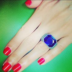 Best of Blue: Sapphire hemmerle ring. Follow #christiesjewels every Tuesday on Instagram.