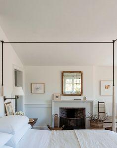 Home Decor Minimalist Farmhouse Bedroom with Fireplace.Home Decor Minimalist Farmhouse Bedroom with Fireplace Quirky Home Decor, Cheap Home Decor, Home Bedroom, Bedroom Decor, Bedroom Ideas, Master Bedroom, Bedroom Interiors, White Interiors, Bedroom Wall