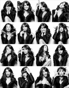 Glee fans check out this celebrity photostrip! #Photobooth #celebrity #leamichele