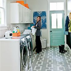 7 Small-Space Makeovers | Try a Painted Floor | SouthernLiving.com