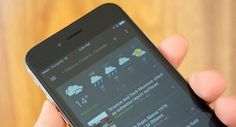 GOOGLE LAUNCHES APPLICATION NEWS AND WEATHER FOR ITS OWN OPERATING SYSTEM IOS