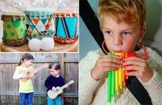 20+idées+d'instruments+de+musique+réalisés+à+la+maison+pour+amuser+les+enfants