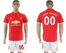 Manchester United Personalized Home Soccer Club Jersey