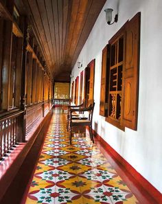 A Kerala Home.. In Kerala you normally don't see housing clusters or row houses. Normally a Kerala home is a separate, independent house in a huge portion of land. Opulent and traditional family houses are called 'Nalukettu'. This is an architectural design with a centrally open courtyard with rooms built around it. The temple architecture of Kerala has considerably influenced this way of home design. http://gulmoharlane.tumblr.com/post/134840321739/a-kerala-home