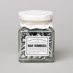 Bah! Humbugs - so awesome, wish i could find these in the us or that they delivered here.