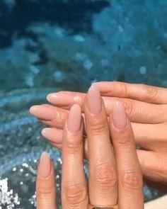 Nageldesign - Nail Art - Nagellack - Nail Polish - Nailart - Nails # on Almond Acrylic Nails, Cute Acrylic Nails, Acrylic Nail Designs, Short Almond Nails, Almond Nail Art, Pink Nail Designs, Nagellack Trends, Nail Polish, Classy Nails