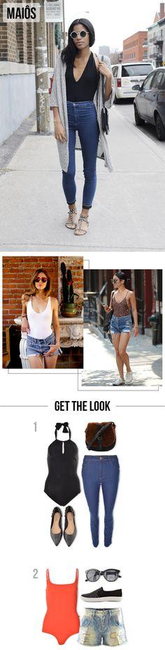 Praia na Cidade: Como usar peças de praia em looks urbanos. | Maiô | Body #moda #dicas #look #outfit #blog #comousar #getthelook #praia #verão #lnl #looknowlook