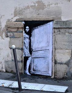 Levelet, grafitti teatral ~ NQ