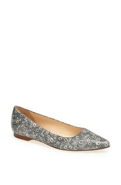 Cole Haan 'Magnolia' Flat available at #Nordstrom- love the pattern