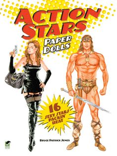 Arnold Schwarzenegger paper doll   Classic Stars & Hollywood : Paper Dolls from Paperdoll Review, for ...
