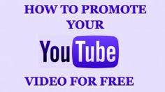 Free YouTube Promotions | Everything You Like