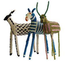 artpropelled:  Monkeybiz Beaded animals made in South Africa
