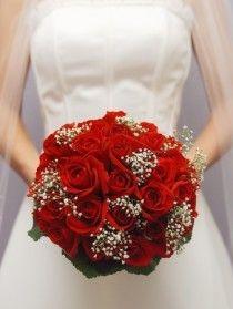 Ravissante Détails sur le mariage Rouge