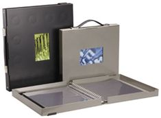 aluminum portfolio cases | Storage boxes are usually cardboard, but Pina Zangaro makes some that ...