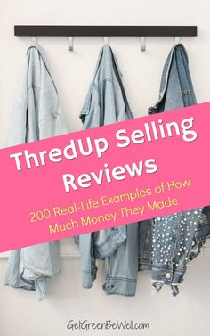 Can you make money selling your clothes on ThredUp? Here's the shocking truth of how much money you can make in the online consignment store. Make Money Blogging, How To Make Money, Online Surveys For Money, Green Living Tips, Homemade Cleaning Products, Making Extra Cash, Fair Trade Fashion, Consignment Online, Best Brand