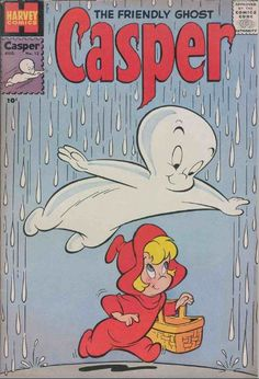 Vintage Comic Books, Vintage Comics, Vintage Posters, Ghost Comic, Comic Art, Casper The Friendly Ghost, Graffiti Characters, Cartoon Posters, Magazines For Kids