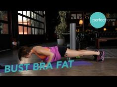 Chest Exercises to Bust Bra Fat | Perfect Form With Ashley Borden