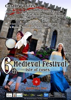 Medieval Festival Isle of Roses - Poster design by Kate Alabasini, MatrixPS Blackmore's Night, Renaissance Fair, Domestic Violence, Rhode Island, Middle Ages, Old Town, Medieval, Mystery, Castle