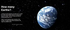 How many Earths? [Interactive]