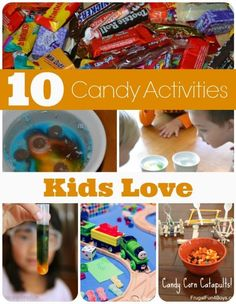 10 Candy Activities