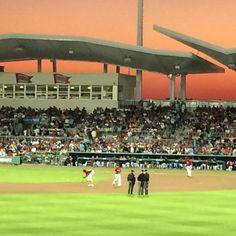 Gorgeous sunset at Spring Training State School, Sports Complex, Sanibel Island, Spring Training, Minnesota Twins, Fort Myers, Boston Red Sox, Florida, Baseball