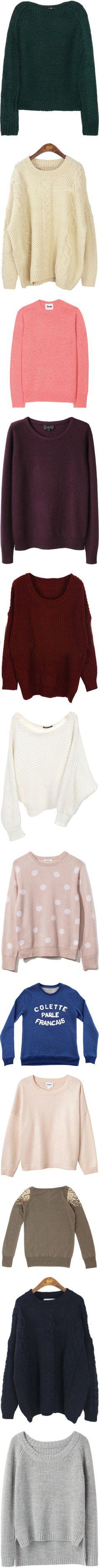 sweaterssssss I'm obsessed