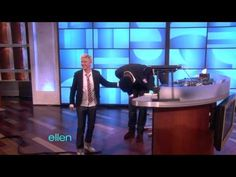 My sister-in-law showed me this clip of Ellen where Tony falls off his chair. I love his expression as he goes down. lol.
