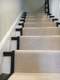 Cost Of Carpet Runners For Stairs Carpet Staircase, Staircase Remodel, Hallway Colours, Hallway Flooring, Entry Stairs, Staircase Makeover, Home Carpet, Hallway Designs, Interior Stairs