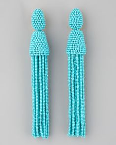 Beaded tassel baubles