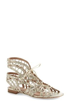 renee lace up sandals / joie