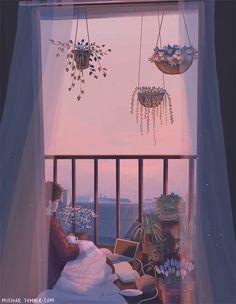 𝓛𝓲𝓷 - Anime Gifs Art by Aesthetic Art, Aesthetic Anime, Scenery Wallpaper, Anime Scenery, Aesthetic Wallpapers, Cute Wallpapers, Cute Art, Art Inspo, Pixel Art
