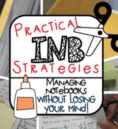 Notebook Strategies Practical Interactive Notebook Strategies: More than 5 tips on how to create truly useful notebooks for students!Practical Interactive Notebook Strategies: More than 5 tips on how to create truly useful notebooks for students! 7th Grade Science, Middle School Science, Elementary Science, Science Classroom, Teaching Science, Teaching Ideas, Classroom Ideas, Ela Classroom, Classroom Organization