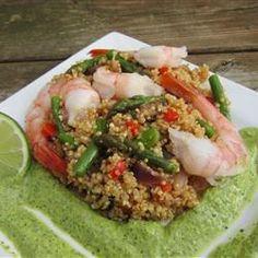 Shrimp and Quinoa Allrecipes.com