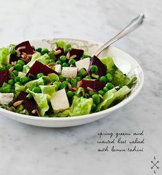 Beet Salad with Lemon Tahini Recipe