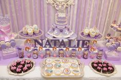 Incredible Sofia the First girl birthday party!  See more party ideas at a CatchMyParty.com!