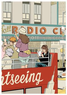 Adrian Tomine's New York Drawings