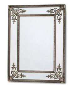 Silver Rectangular French Mirror