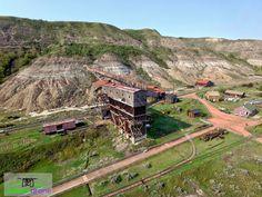 Atlas Coal Mine at Drumheller, Alberta, Canada