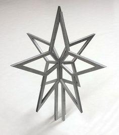 Christmas tree topper. Laser cut custom tree by ThatStencilLaser