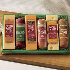 4 Piece Sausage 'n Cheese Bars Gift B…